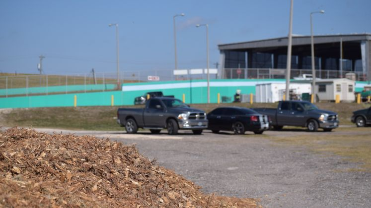 Mulch at J.C. Elliott Landfill