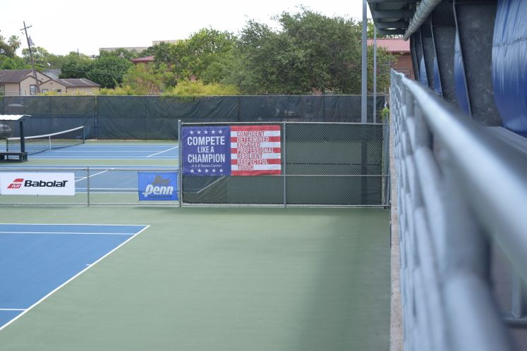 HEB Tennis Court Renovations BOND 2008