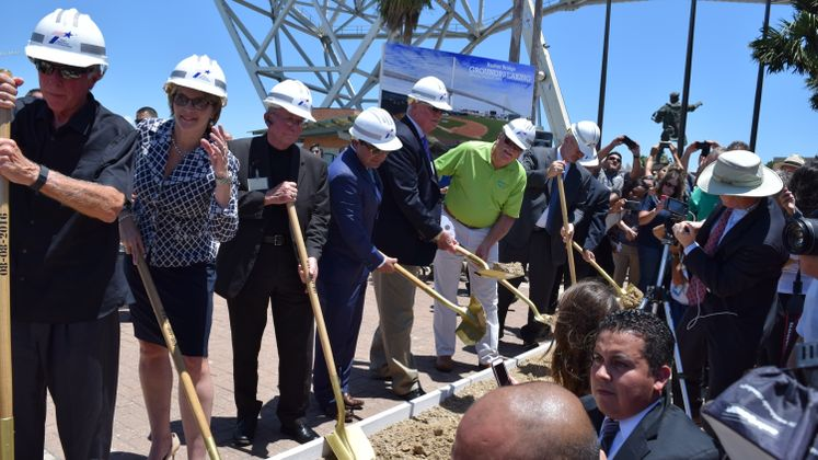 Harbor Bridge Groundbreaking