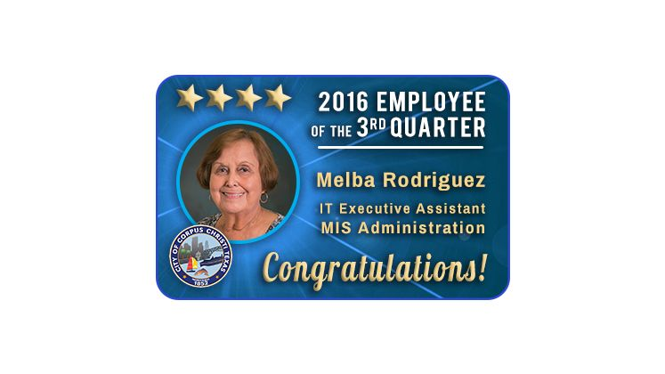 2016 Employee of 3rd Quarter