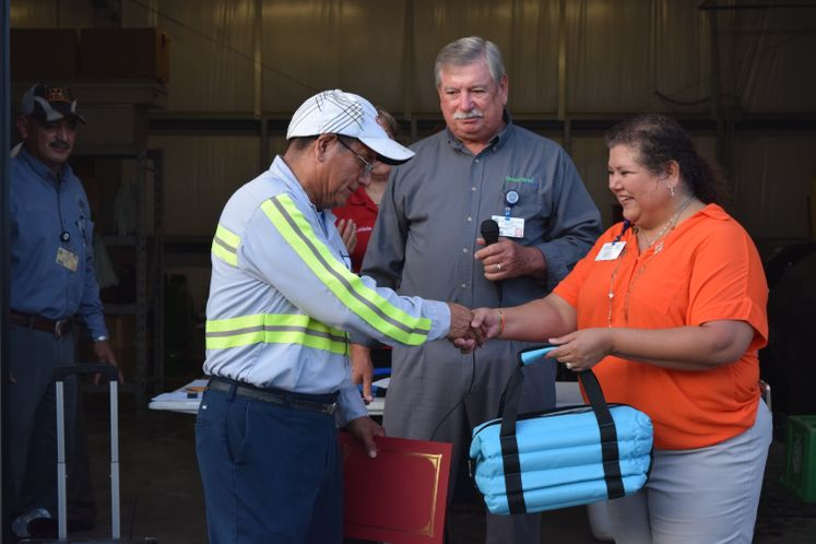 Solid Waste Employees Awarded