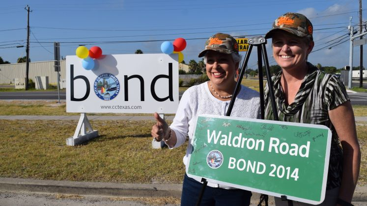 Waldron Rd Opening Ceremony