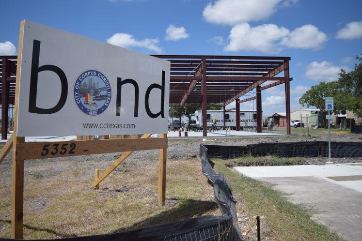 Signal Shop Construction Underway
