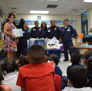 Detention Center Staff Provides Support to School