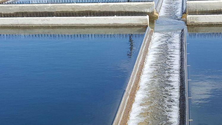 Sedimentation Basin at ONSWTP