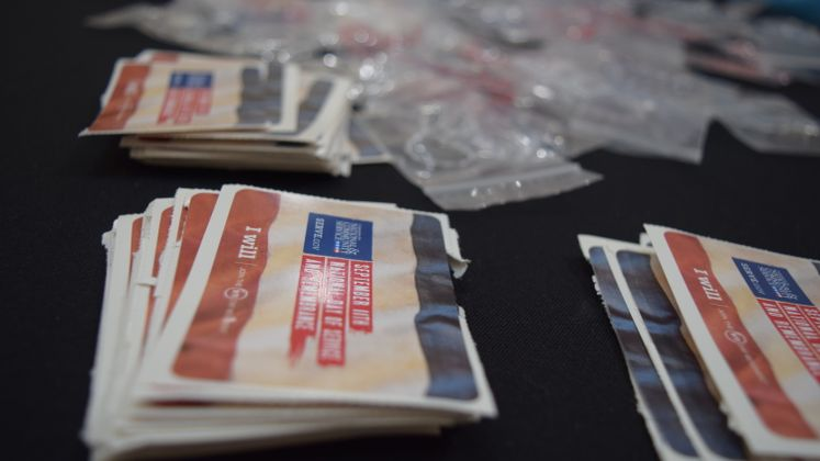 RSVP Volunteers create Remembrance Bracelets