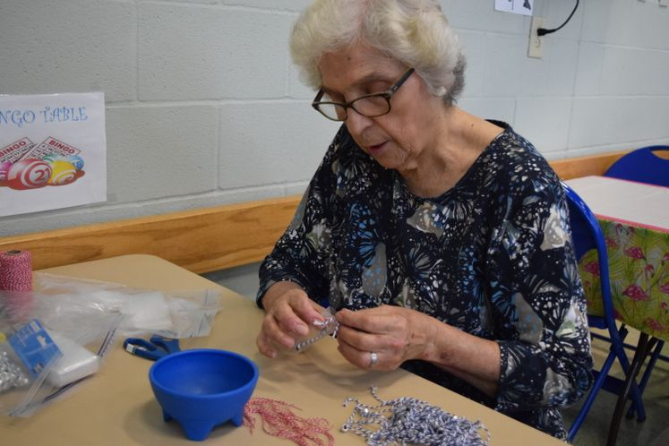 RSVP Volunteers create Remembrance Bracelets
