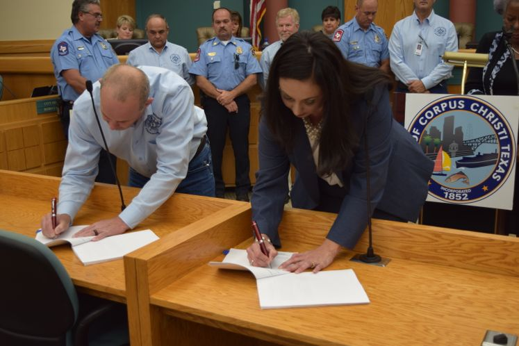 CCFD Contract Signing
