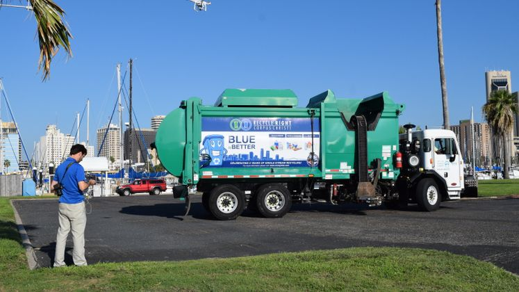 CC Solid Waste Trucks Featured in National Calendar