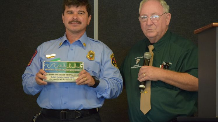 CCFD Awarded for CPR Class