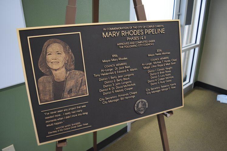 Mary Rhodes Pipeline Phase II Dedication