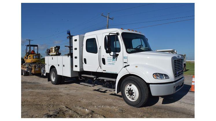 New Utilities Truck