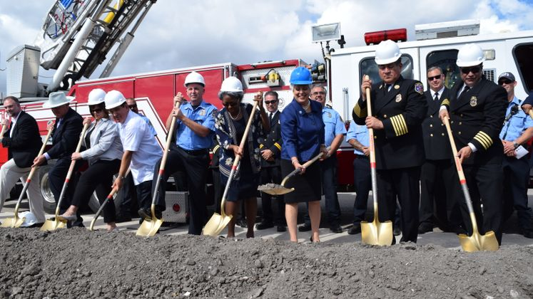 Fire Station No. 18 Groundbreaking