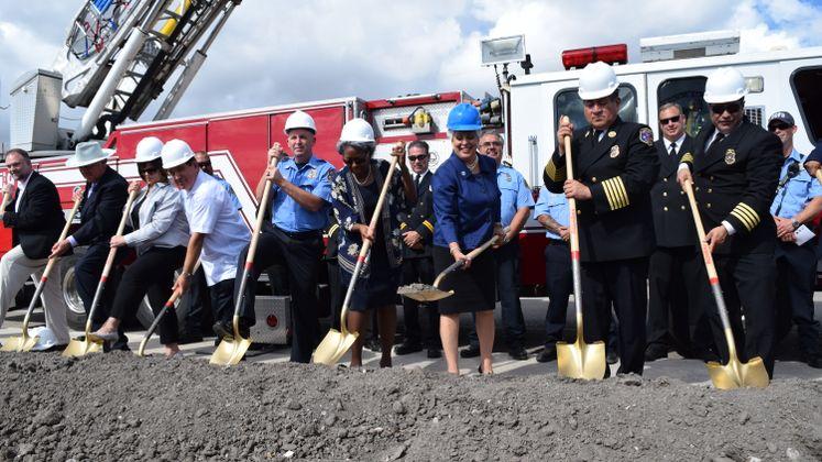 Fire Station No. 18 Groundbreaking