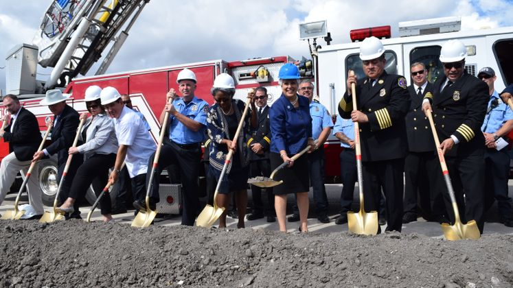 Fire Station No.18 Groundbreaking