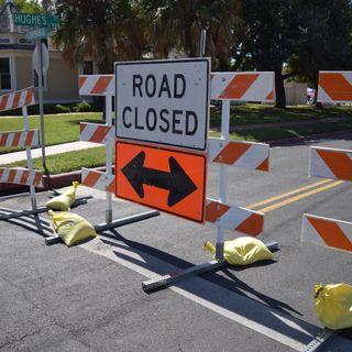 Weekly Road Closures Jan 21-27