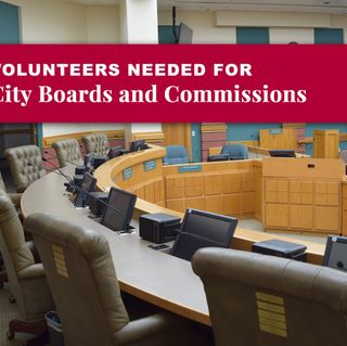 City Board, Committee and Commission Vacancies