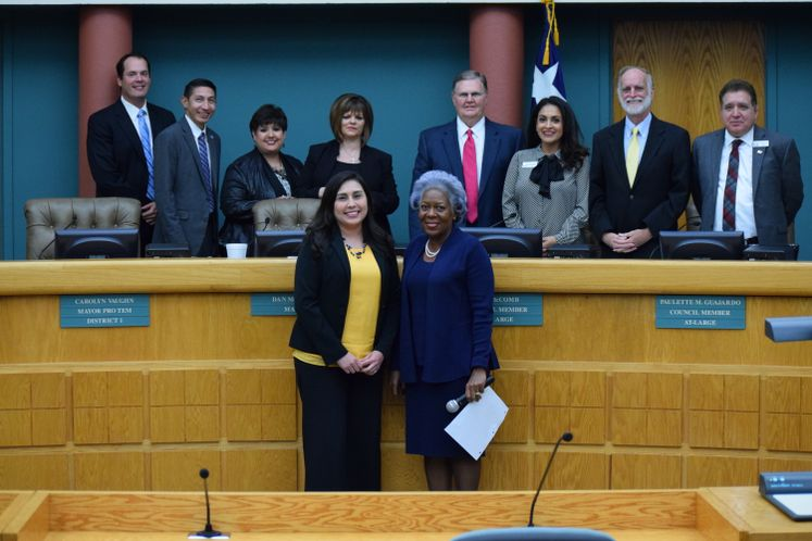 J. Ramirez Recognized by City Manager