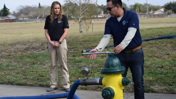 Hydrant Flushing and Testing
