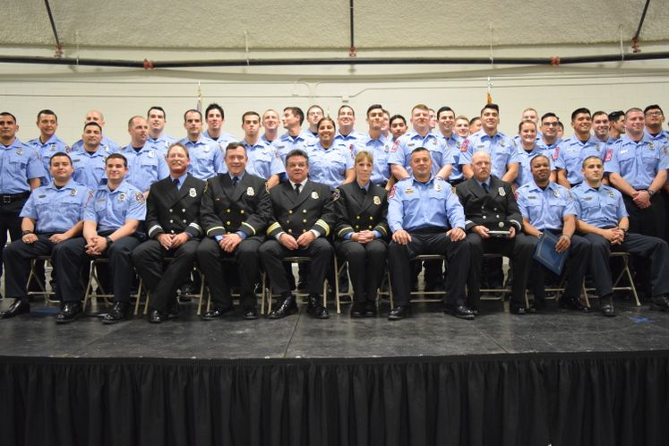 38th Fire Academy Graduates