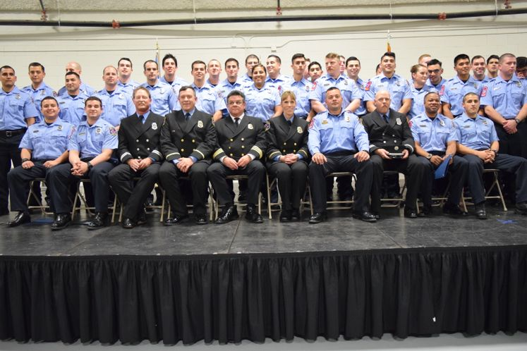 38th CCFD Firefighter Academy
