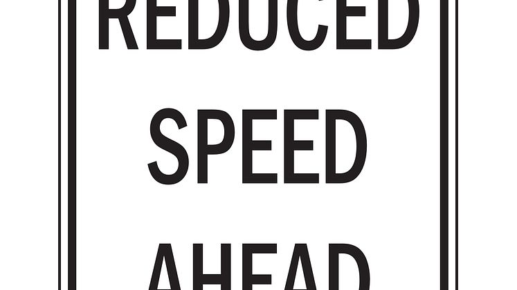 reduce speed