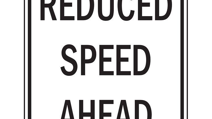 reduce speed