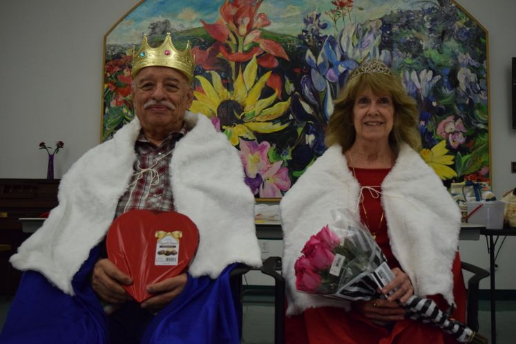 Valentine's Coronation at Garden Senior Center