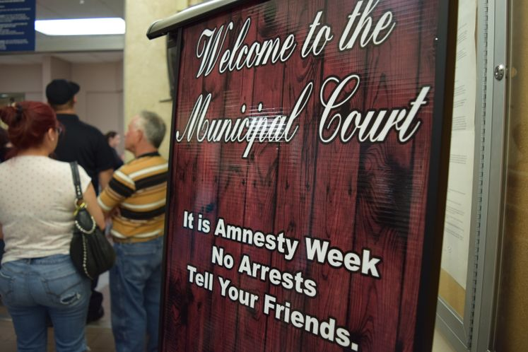 Amnesty Continues at Municipal Court