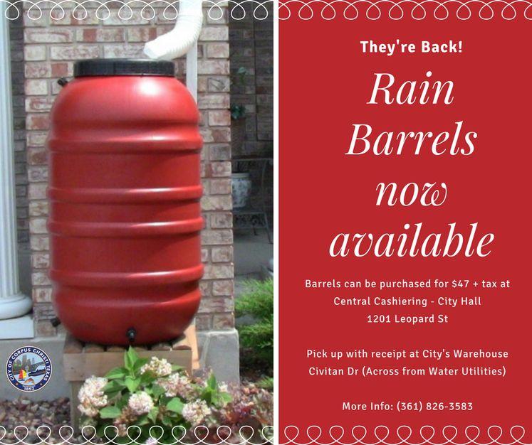 Rain Barrel Sale