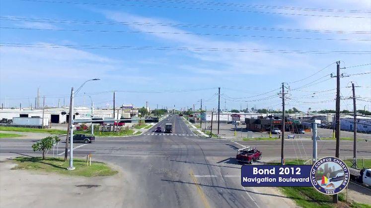 Bond 2012 Navigation Blvd. - Up River Road to Leopard Street