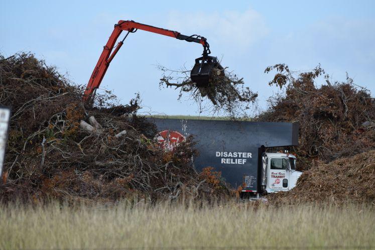 Harvey Debris Collection / October