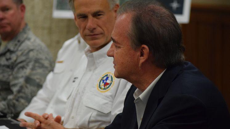 Governor Announces Aid due to Harvey / September