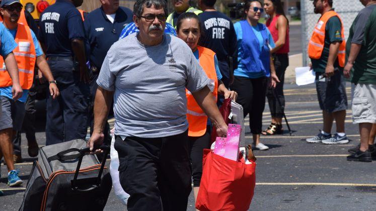Hurricane Evacuation / August