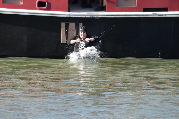 Buccaneer Days! Dunk of the Mayor / May
