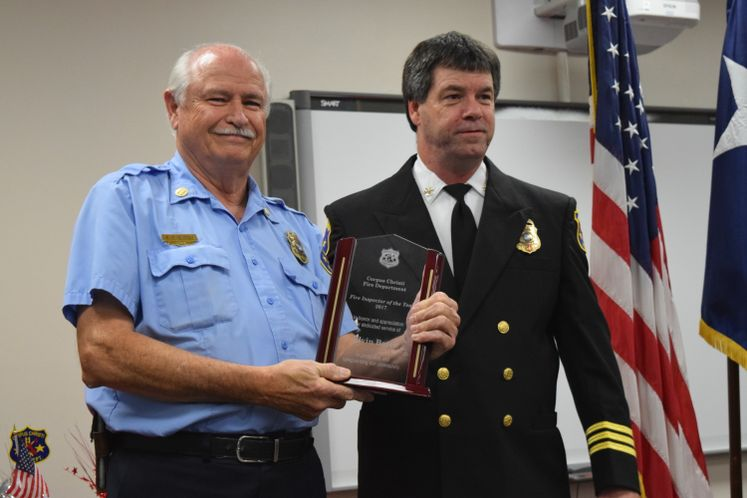 CCFD Firefighter of the Year / March
