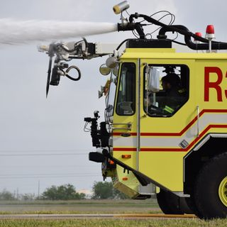 Airport Holds Emergency Mock Drill