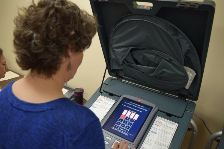 Voting Machines Tested for Special Election