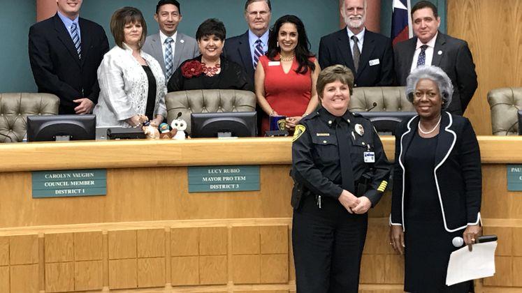 Police Commander Recognized