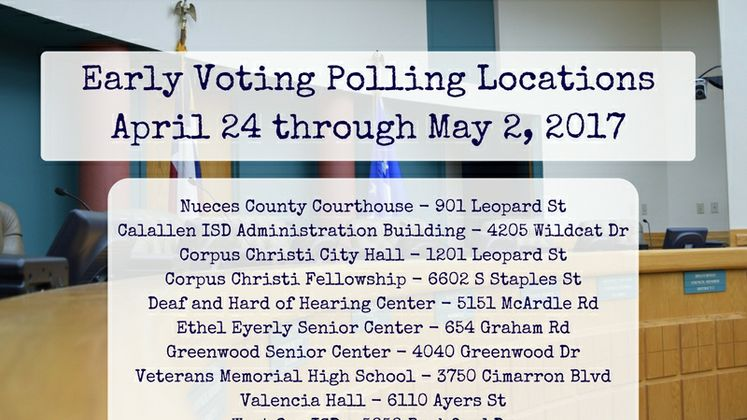 Early Voting Polling Locations