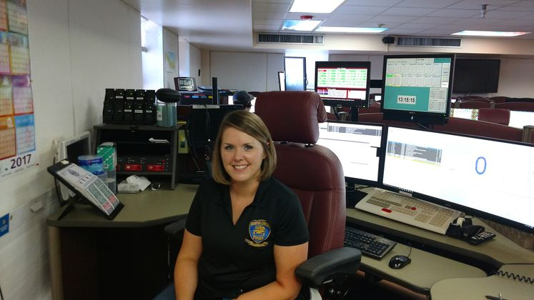 C. Knecht Metrocom Dispatch Supervisor, Telecommunicators Week