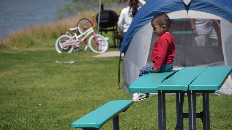 Labonte Park, Easter Camping