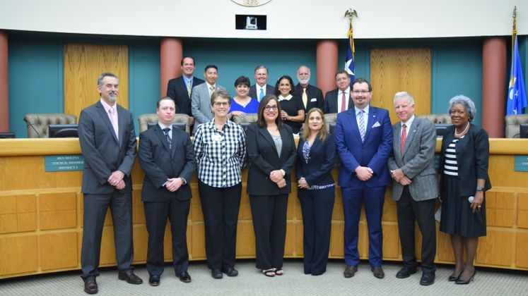 Budget Staff Recognized by City Manager