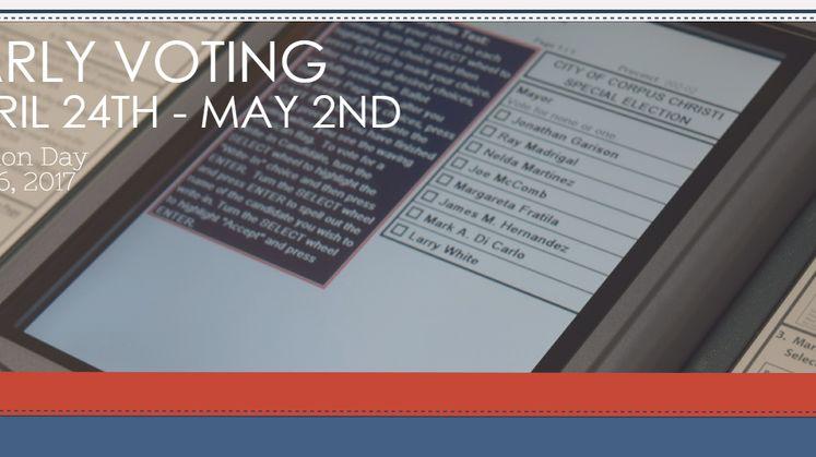 Voting graphic