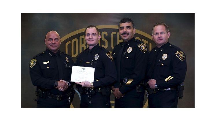 Skyler Barker Officer of Year