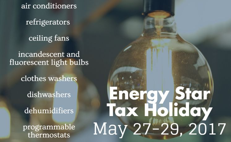 Energy Star Tax Holiday