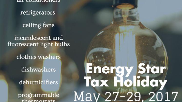 Energy Star Tax Holiday