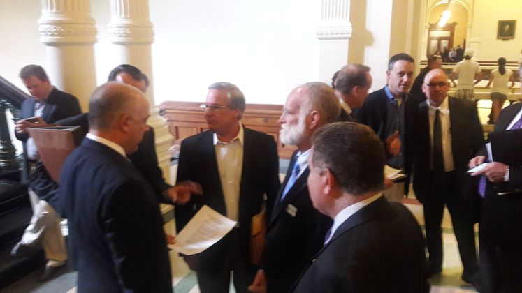 Council Members at State Capital