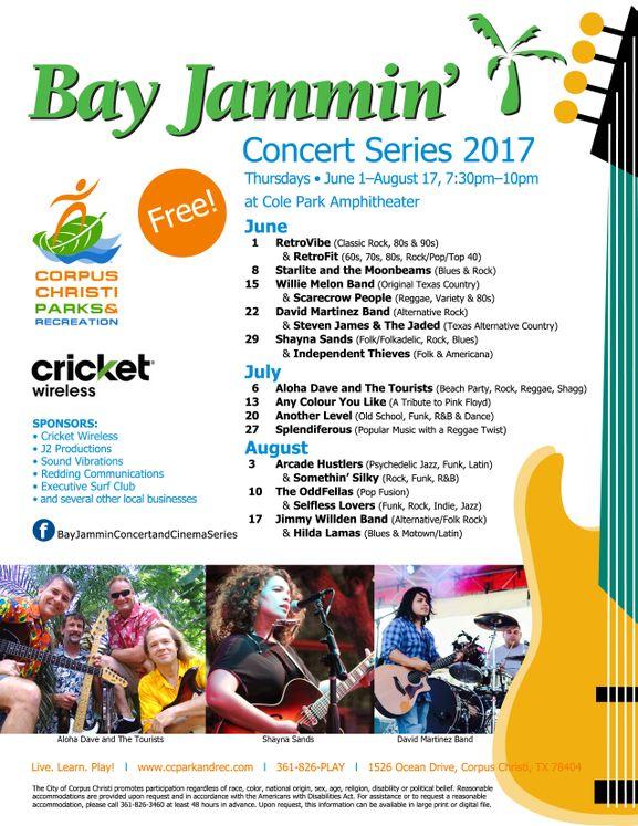 Bay Jammin' Concerts