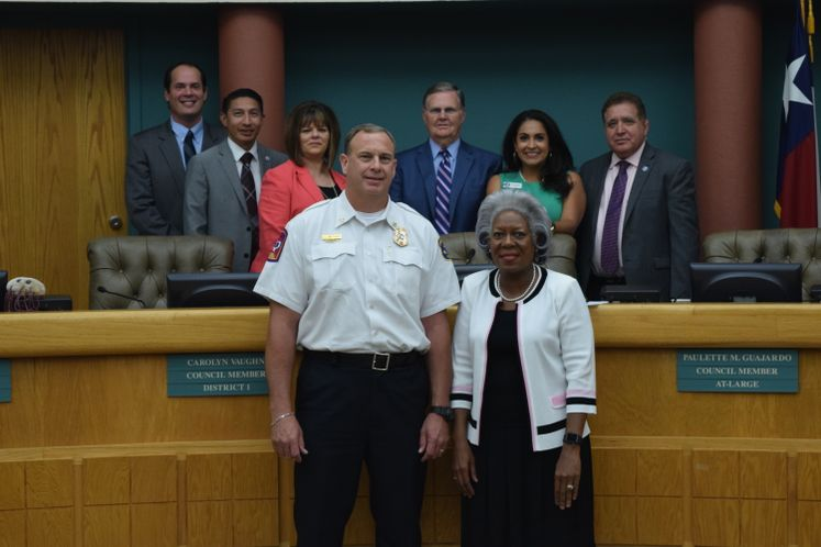 CCFD D. Matthijetz named Assistant Fire Chief